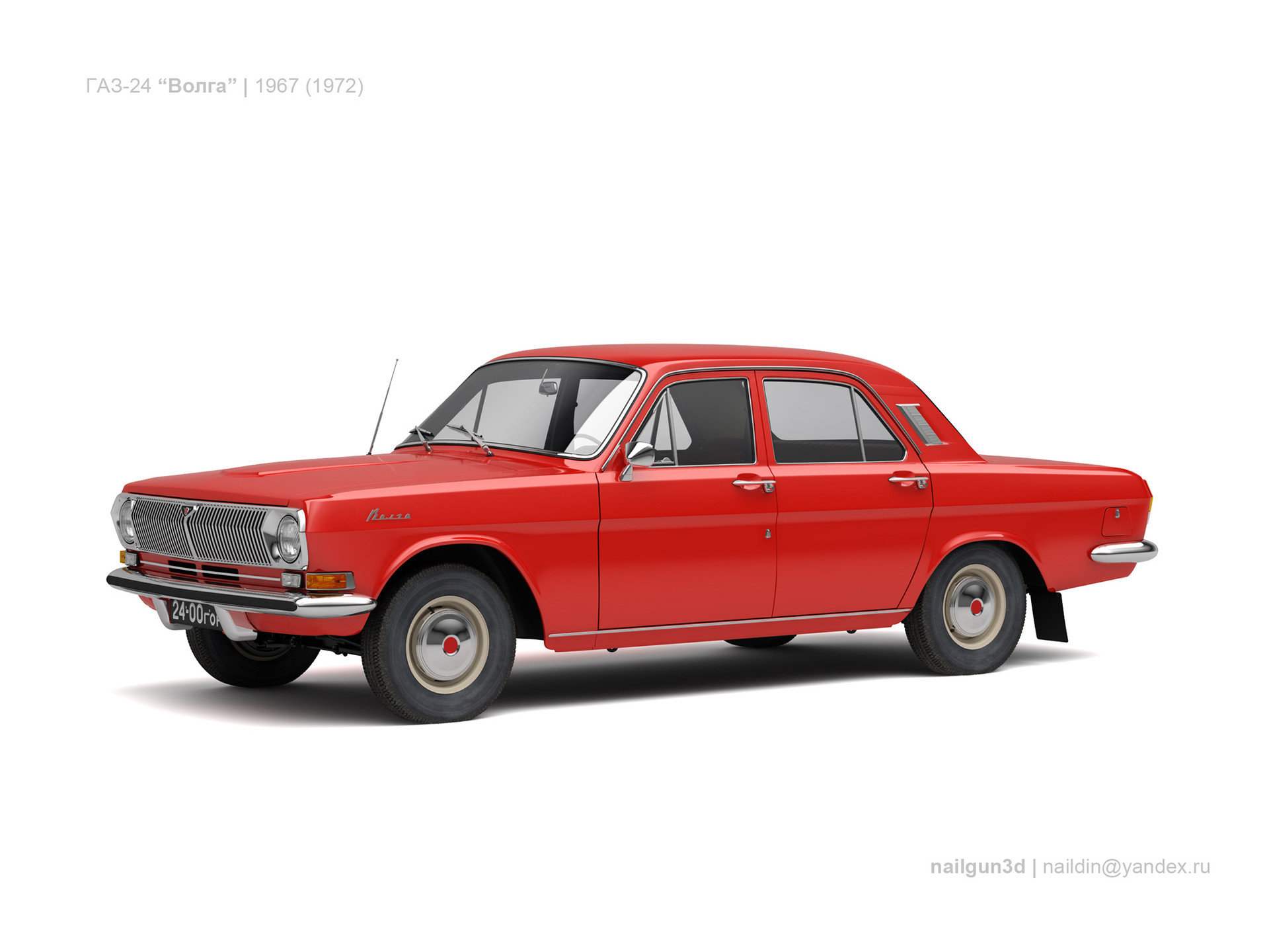 Nail khusnutdinov ussr gaz 24 volga 1967 72 0