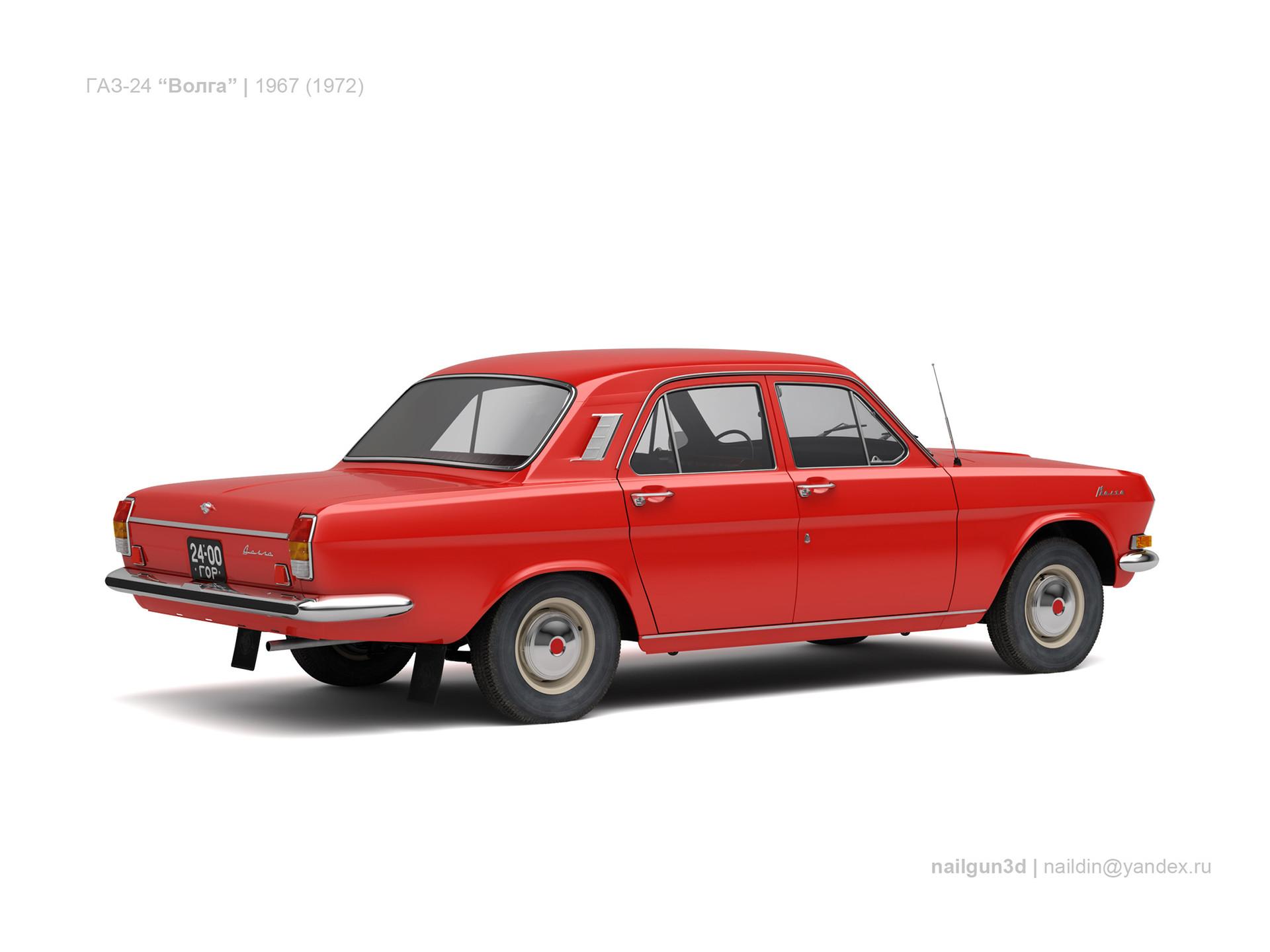 Nail khusnutdinov ussr gaz 24 volga 1967 72 1