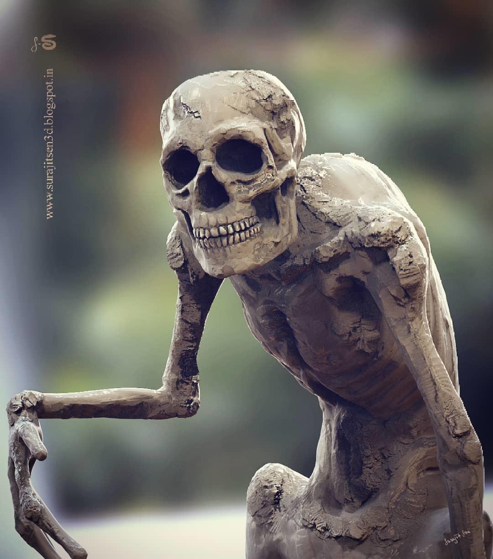 Surajit sen mephistopheles concept sculpt by surajit sen ins