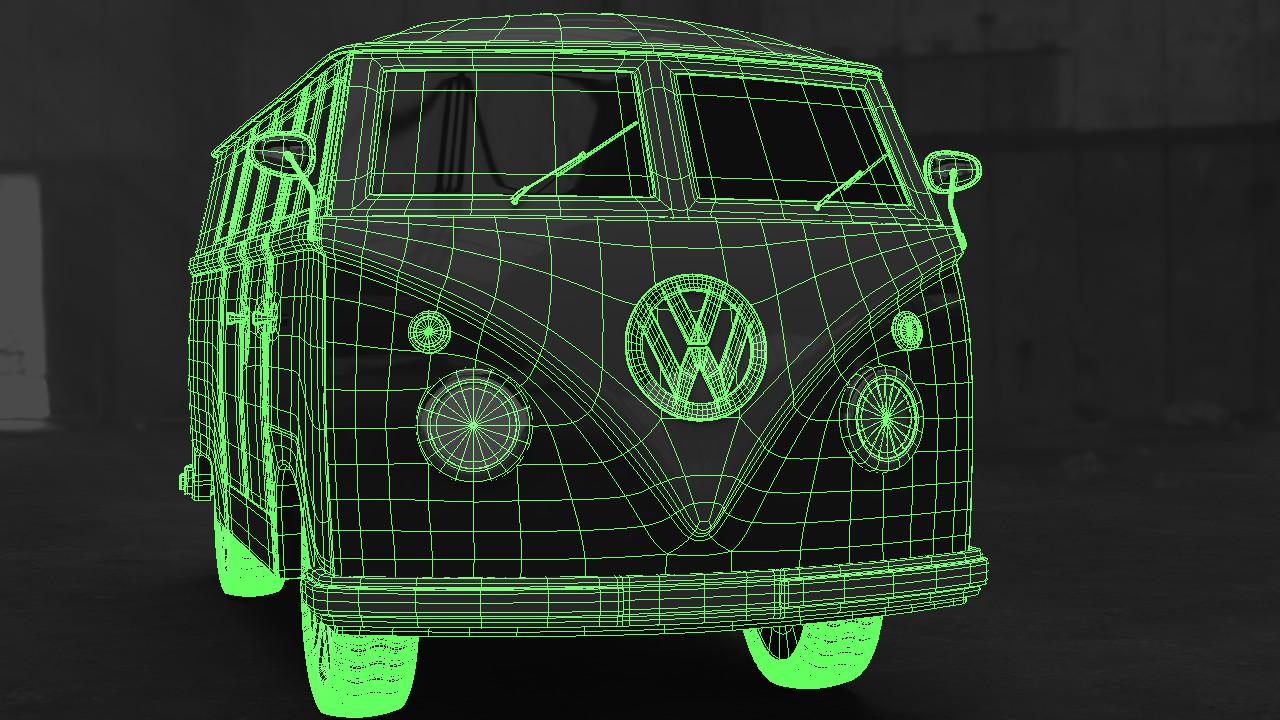 ArtStation - VW Buss Model, Andre Wahl