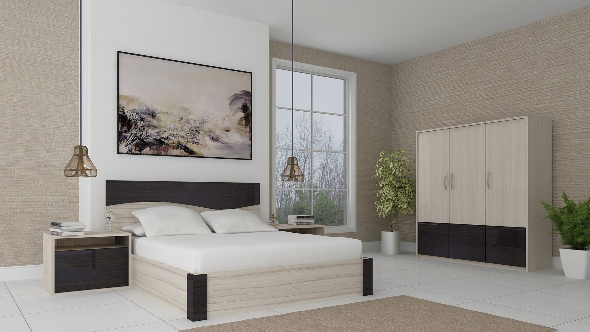 Architectural Rendering Services NYC For Bedroom Interior Design