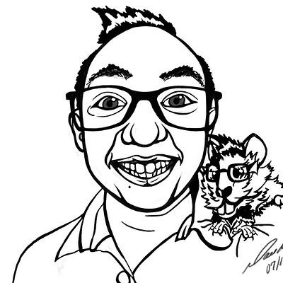 Monika larochelle ml caricature