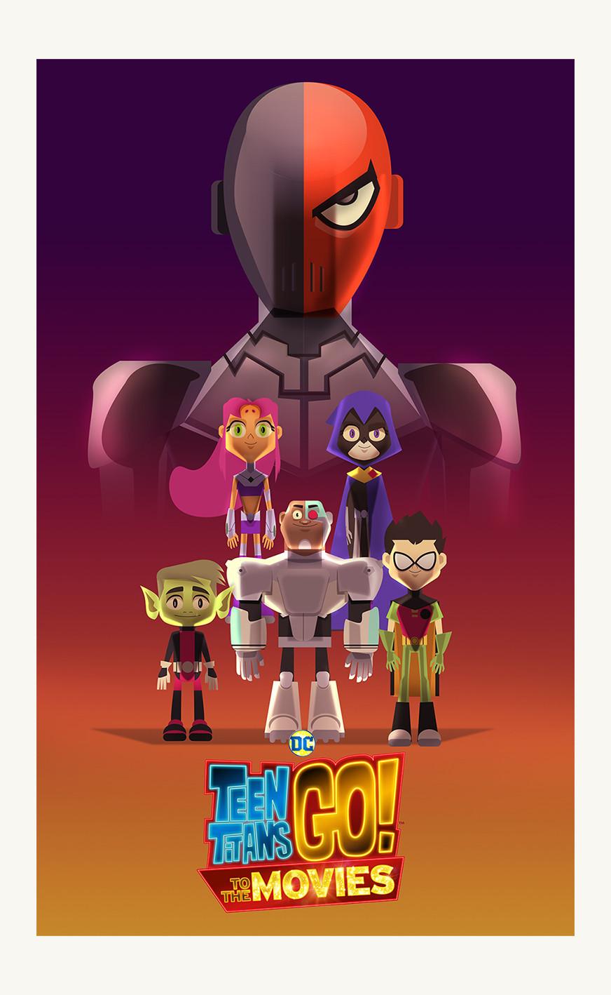 Seems The teen titans movie similar