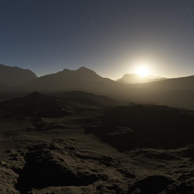 Degraded Earth-like atmosphere