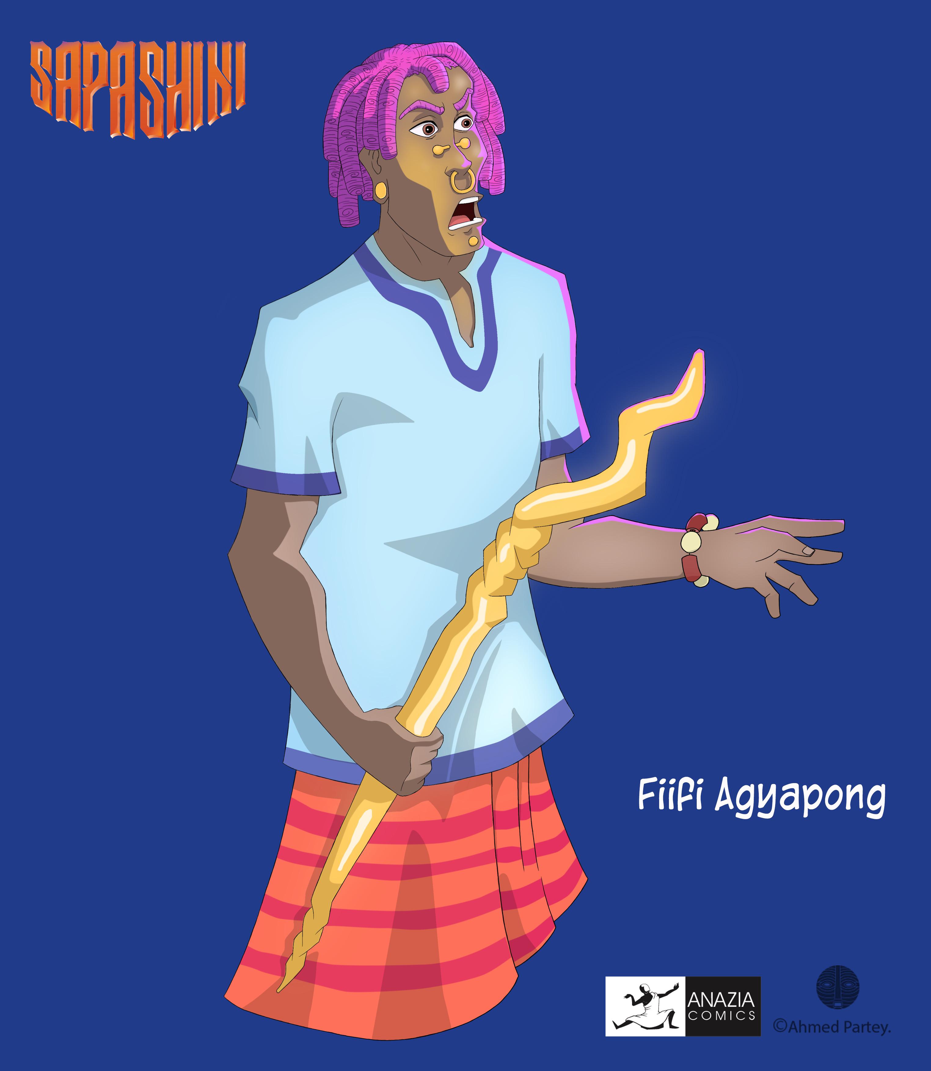 Sapashini character 10