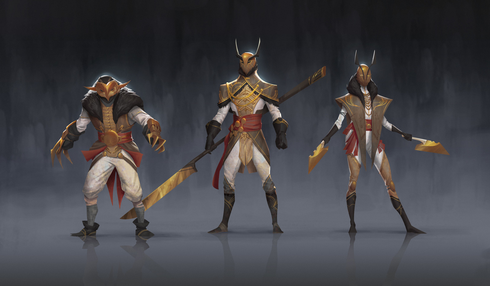 OWL Soldiers (Absolver Fan-art)