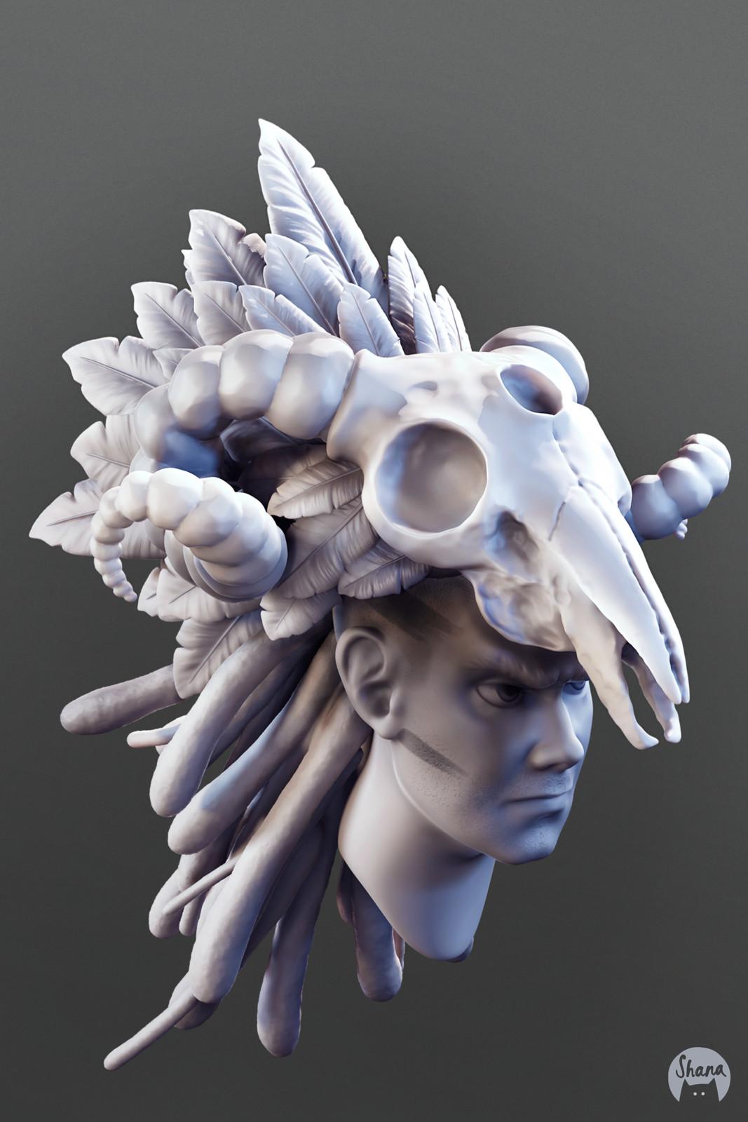 Mask - SculptJanuary