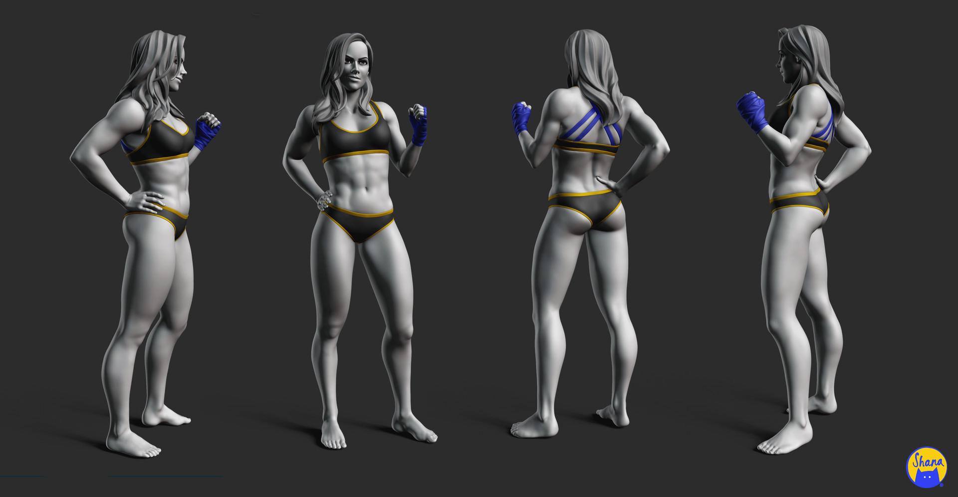 Anatomy - Female Torso