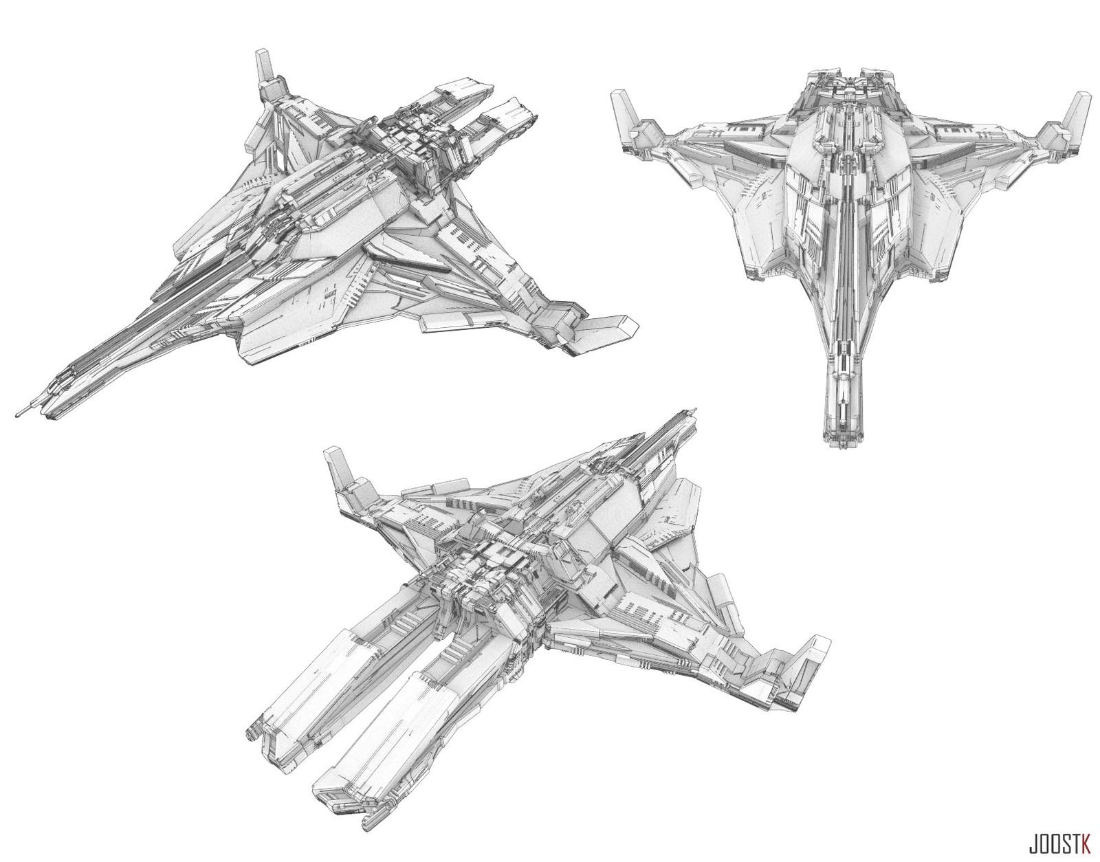 Ship Concept 01 ''X-19''