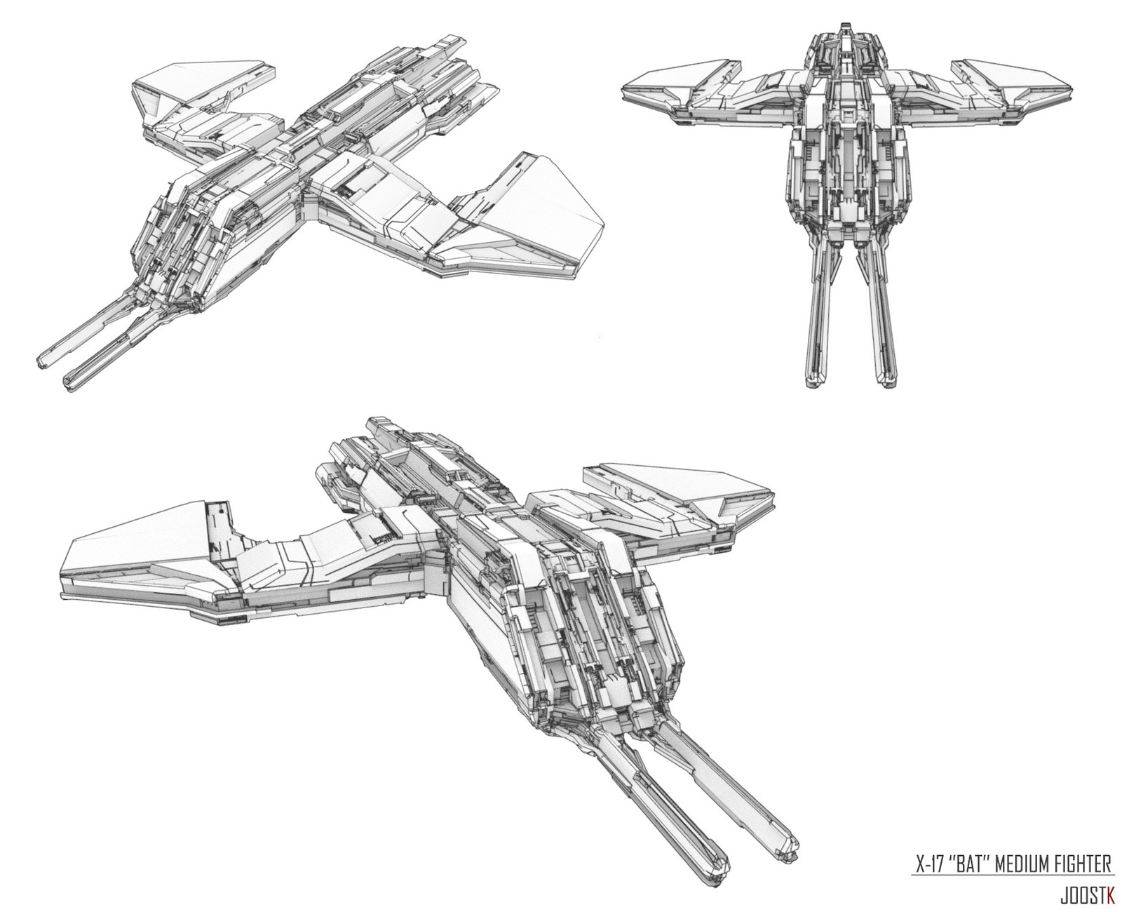 Ship Concept 03 ''Bat''