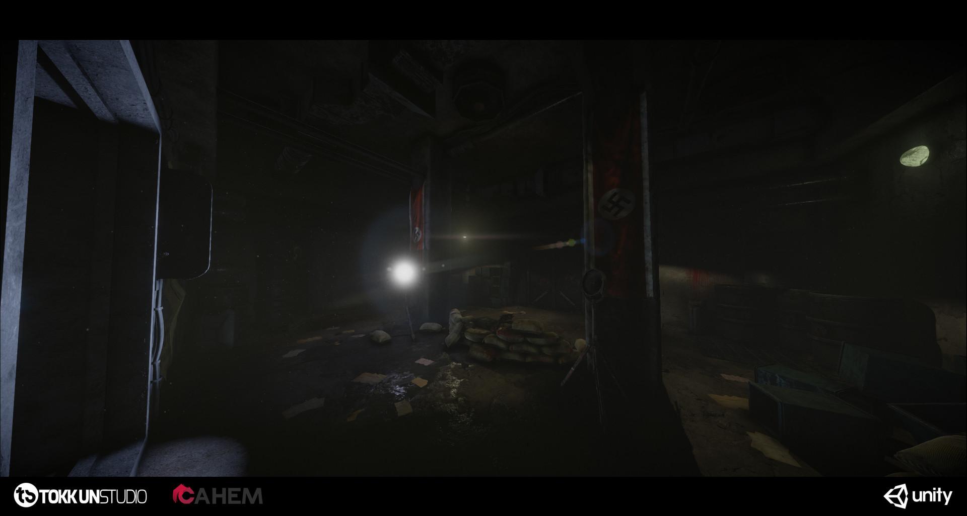 Tokkun studio bunker shot 27
