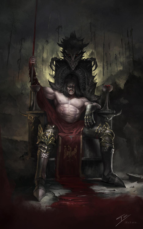 Vlad Tepes - Dracula by Tarik Boussekine ...