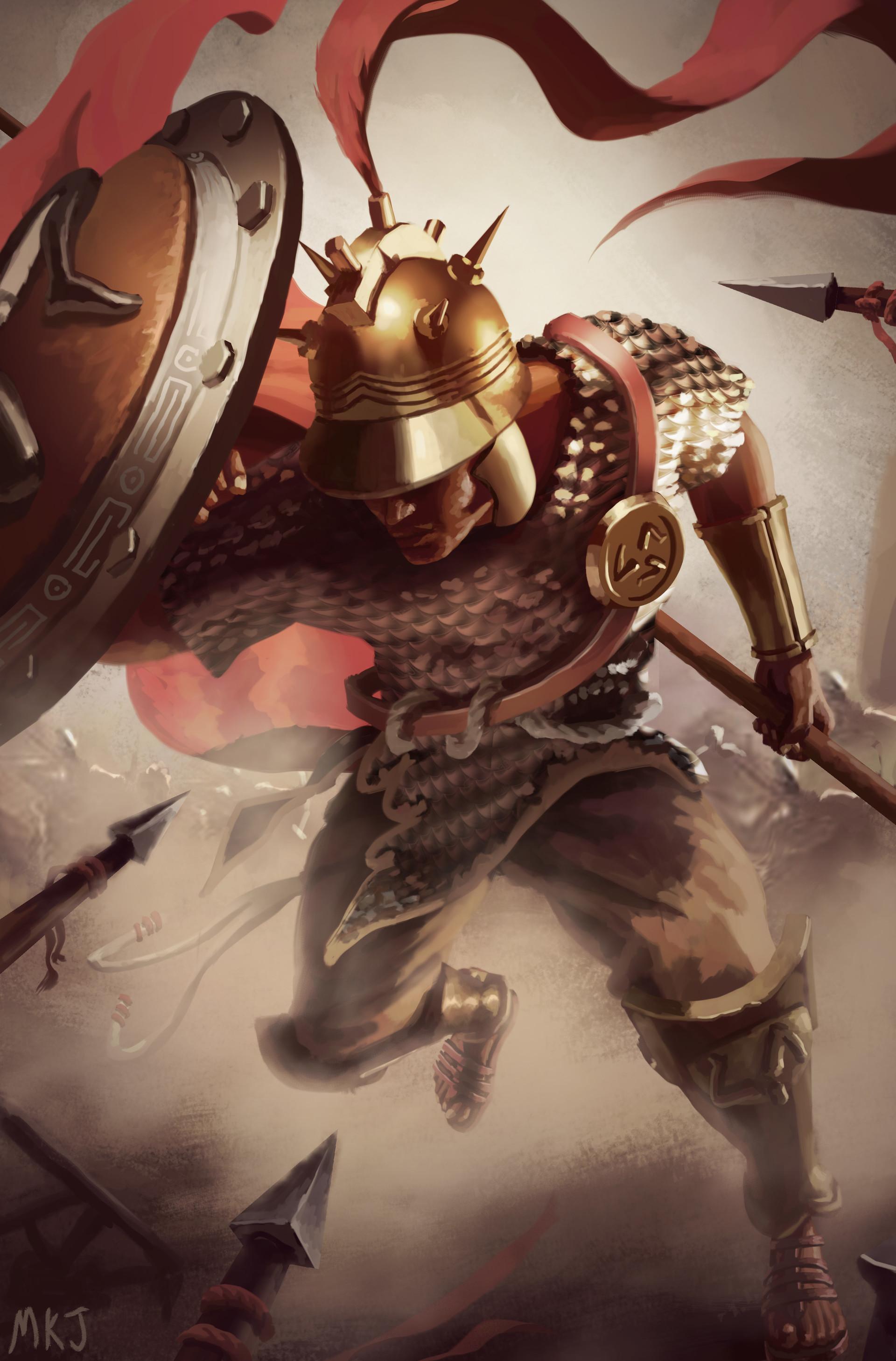 Morgan ketelaar jarass rome mercenary