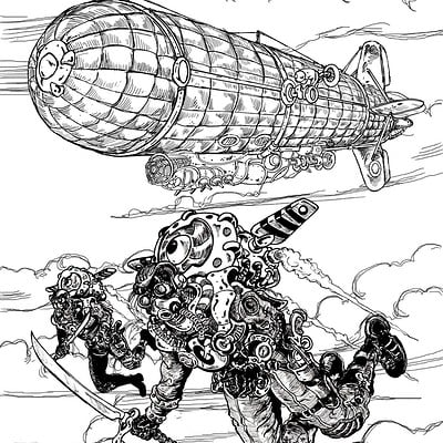 Steamhawks-Inktober #17