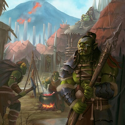 Simon zhong orc village