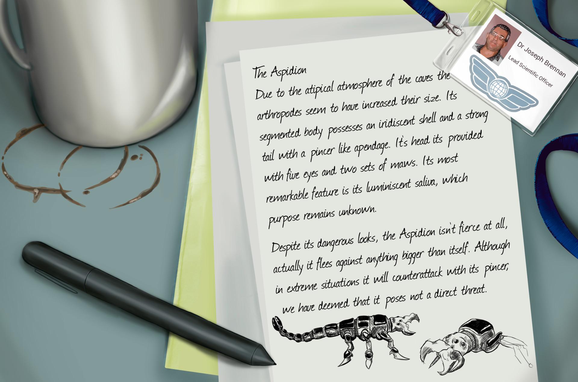 Saida granero parra brennan nota aspidion
