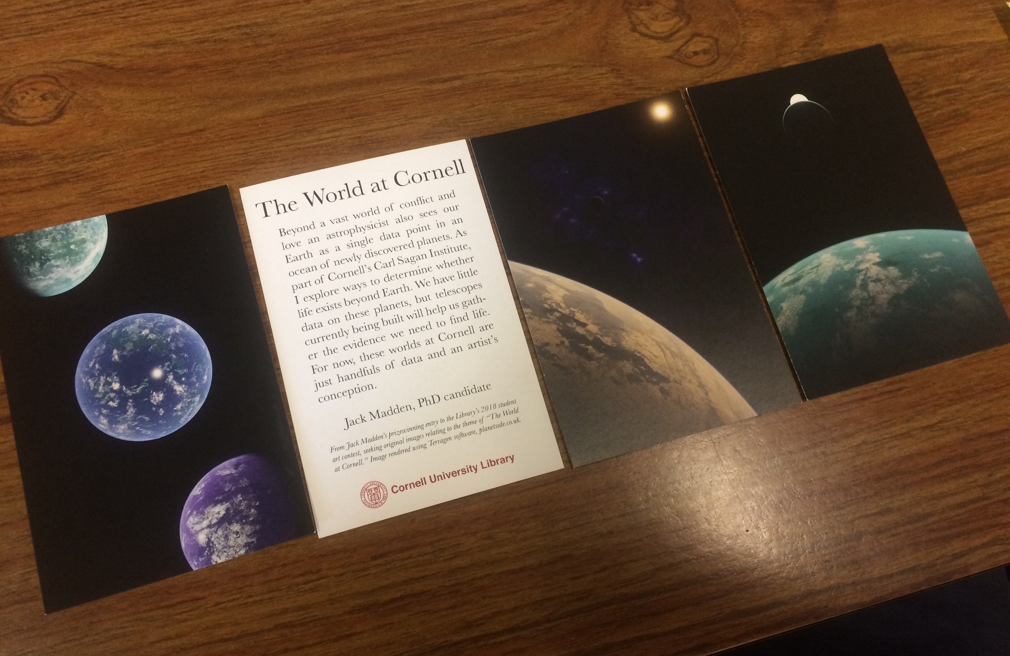 Cards made by Cornell for my submissions.