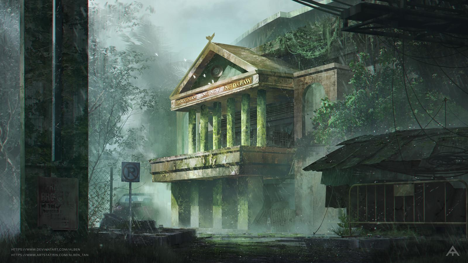 Abandoned Sanggunian - Concept Art