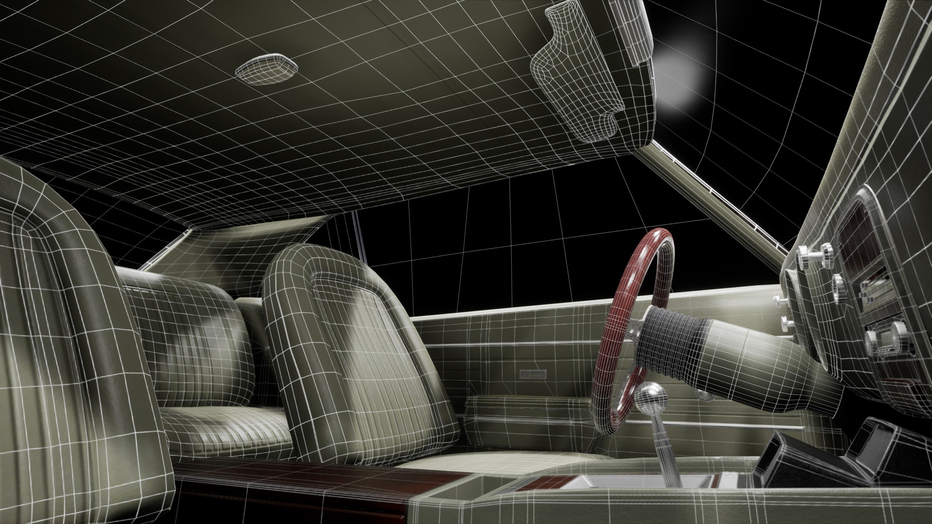 Steven m turner interior wireframe 3