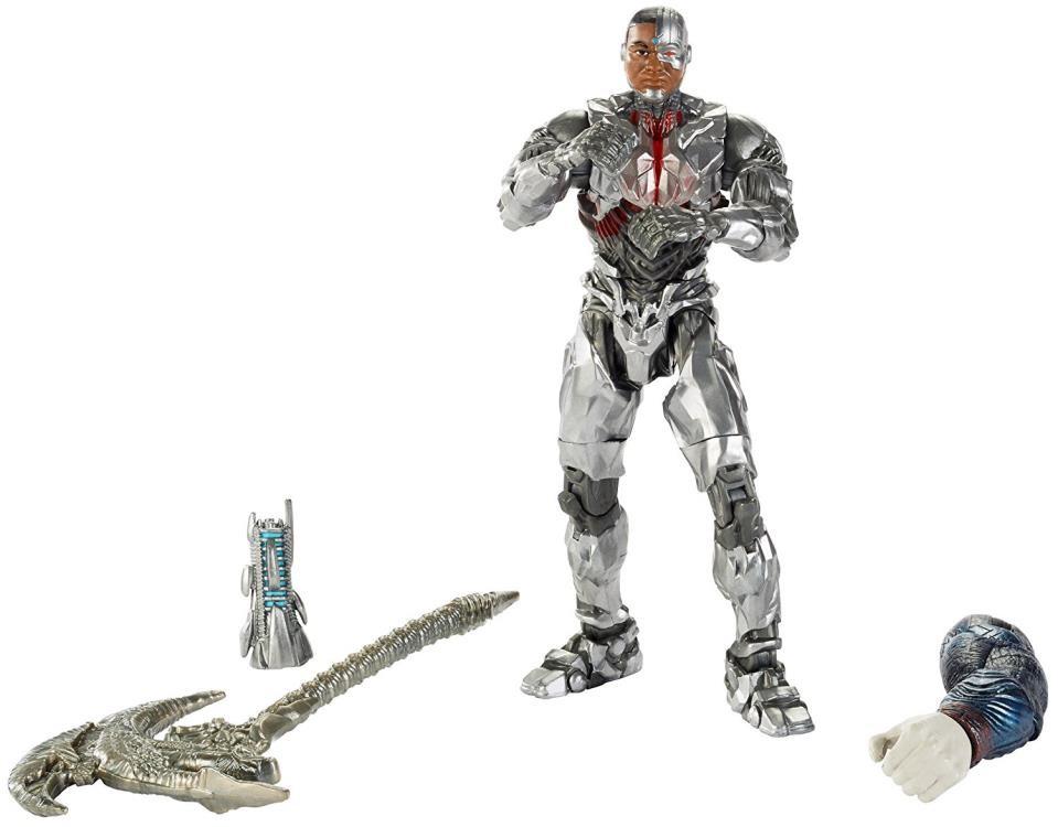 Hugemini com mattel dc multiverse justice league cyborg 001
