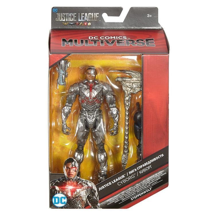 Hugemini com mattel dc multiverse justice league cyborg 004