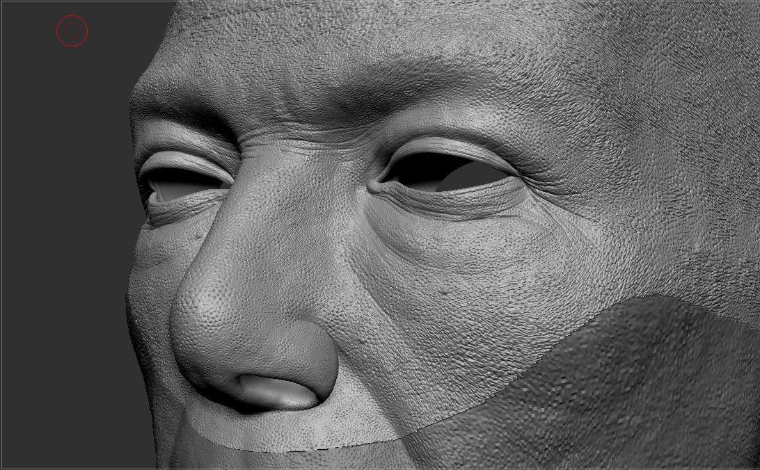 Zbrush HD Sculpting