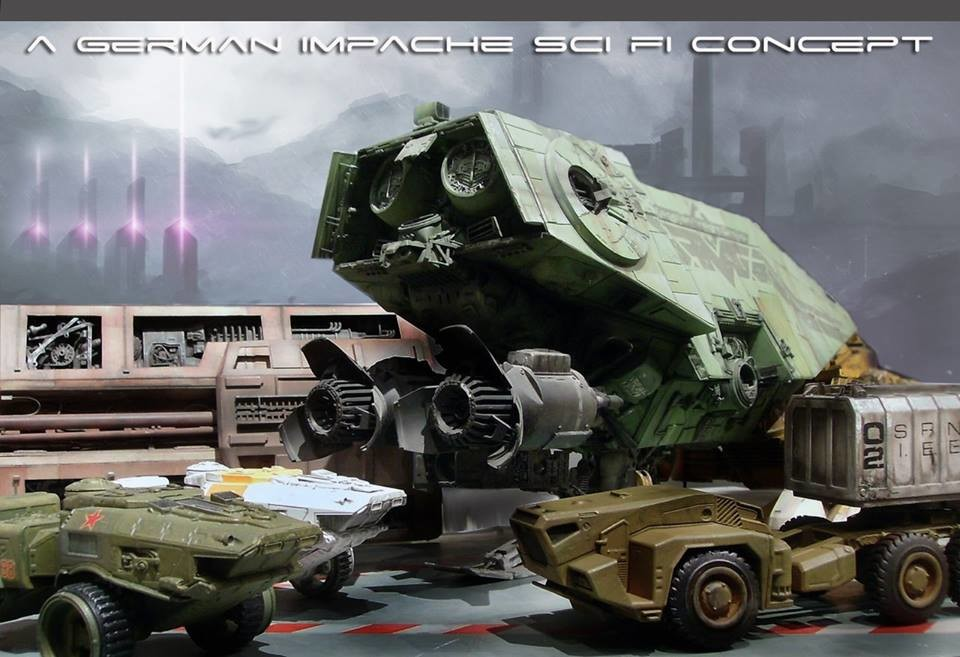 Concept vehicles 1/48 scale