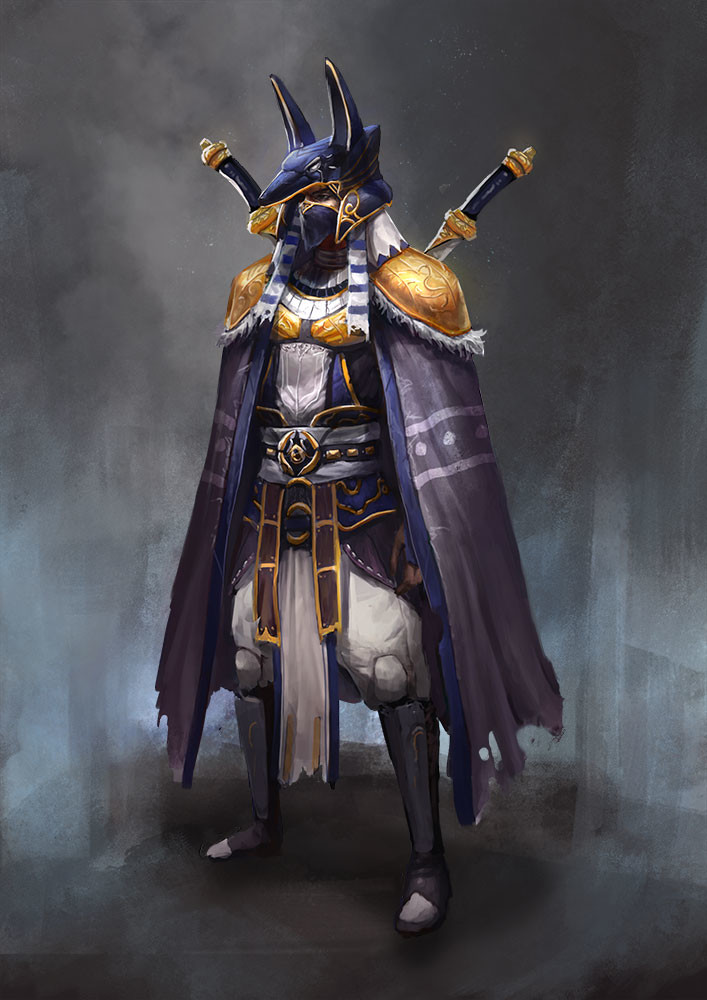 Egyptian Hero Concept