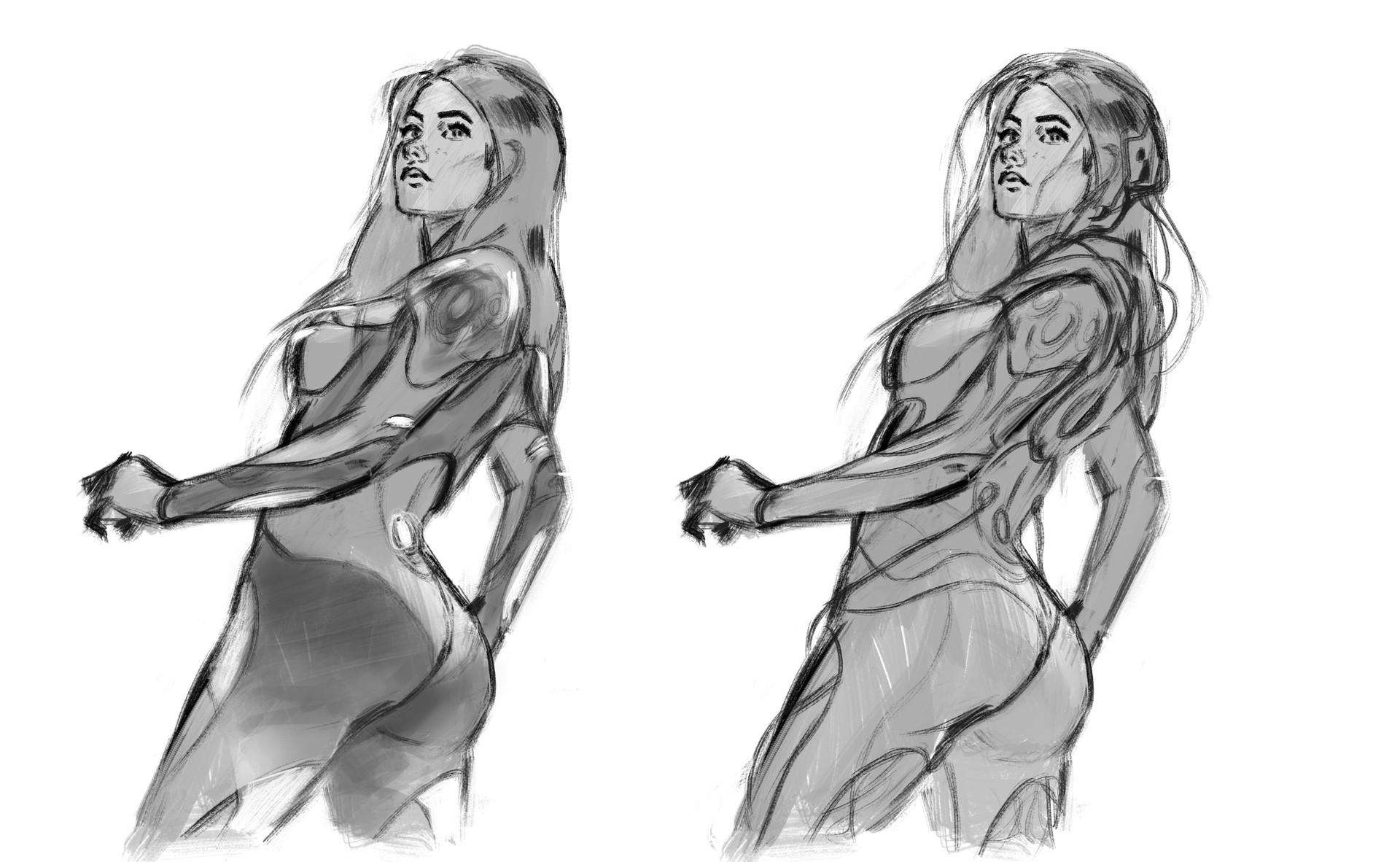 Marta nael ava sketch