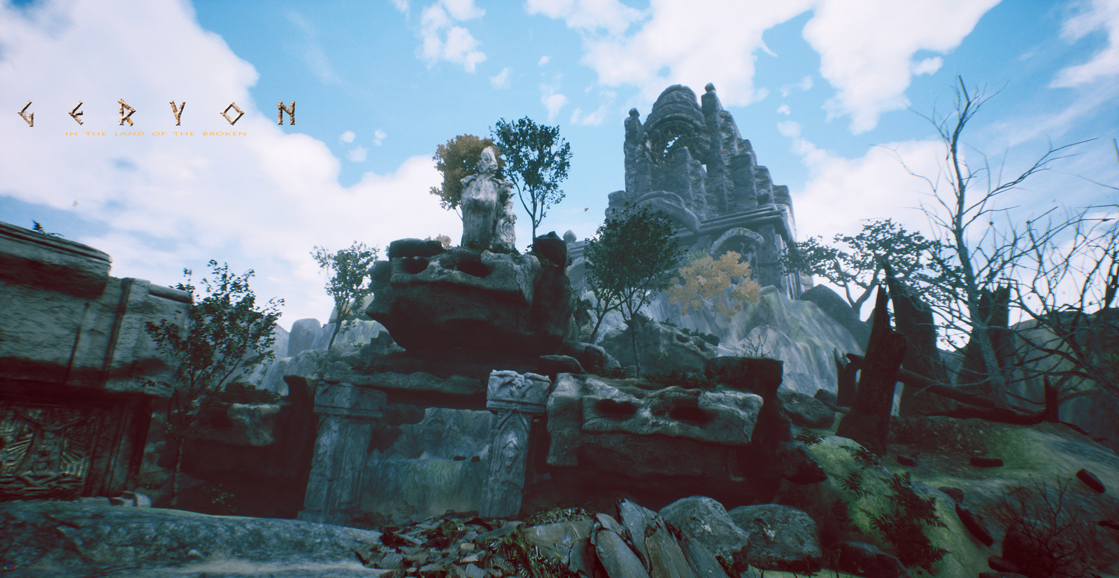 GERYON-PC game updates |work in progress | Early in-game look /world navigation