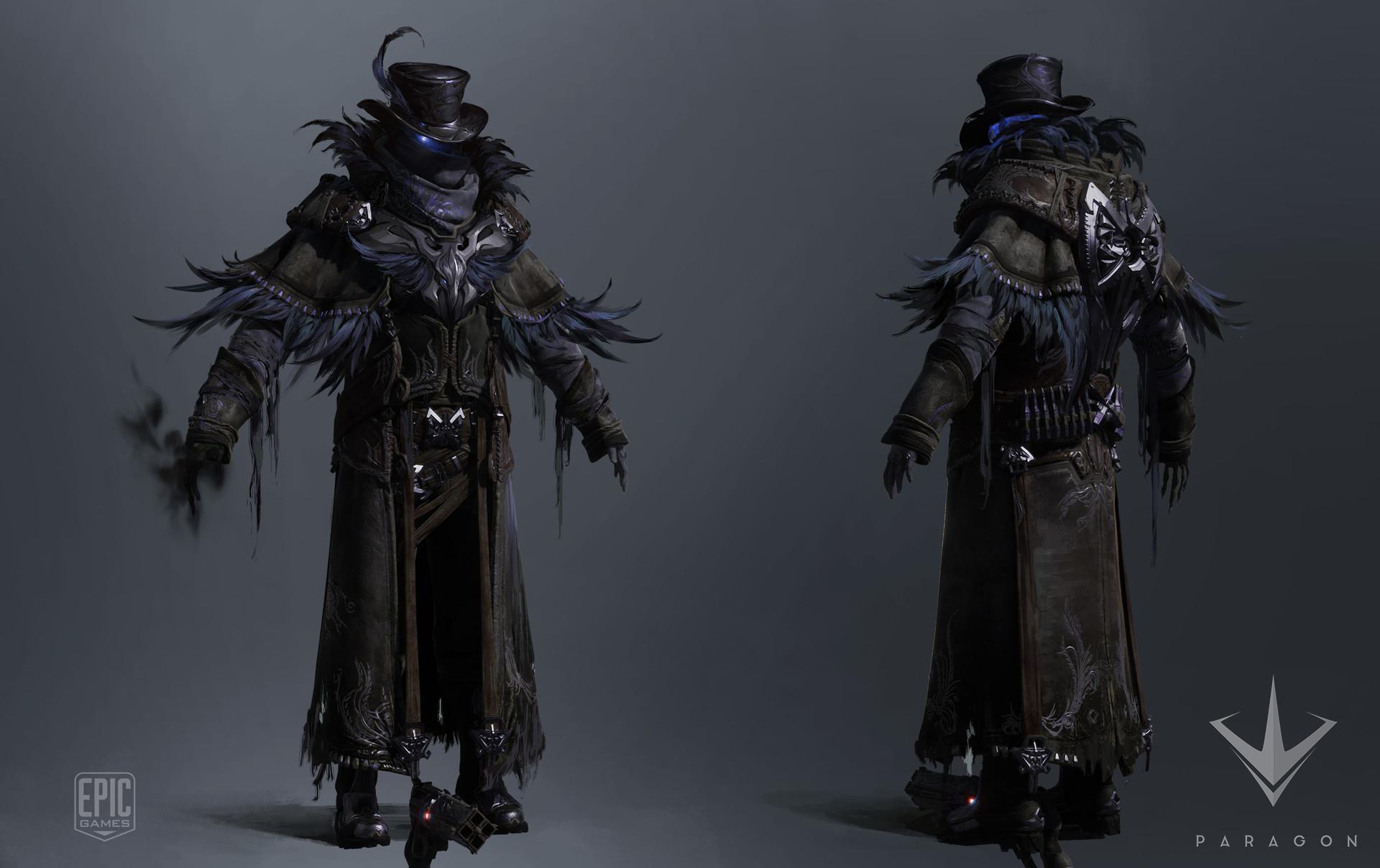 2.Revenant raven skin
