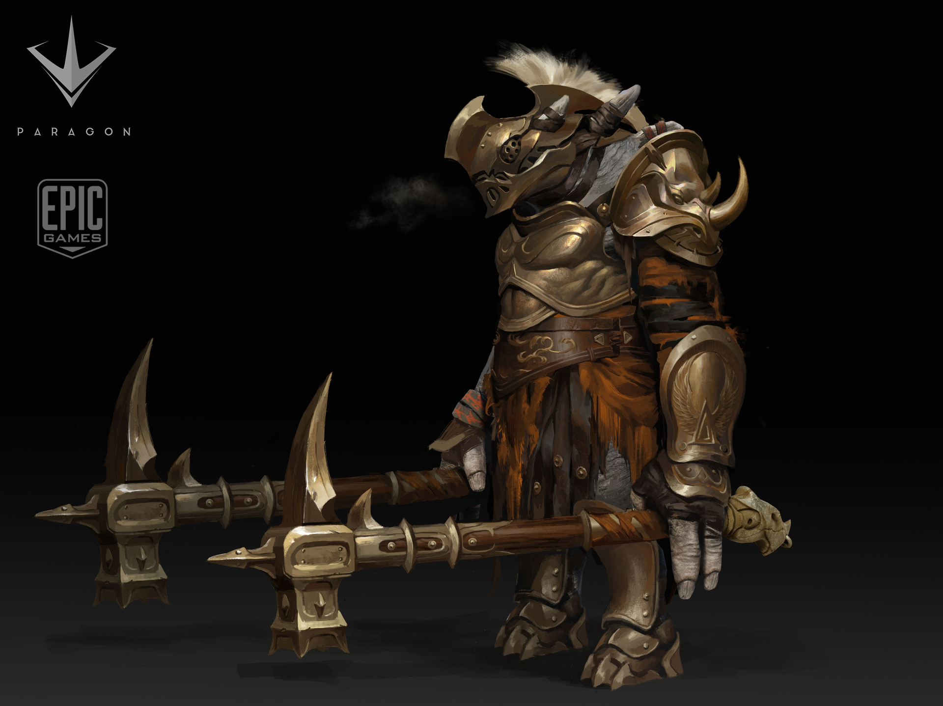 8.Grux Gladiator  original concept : Paul Richards