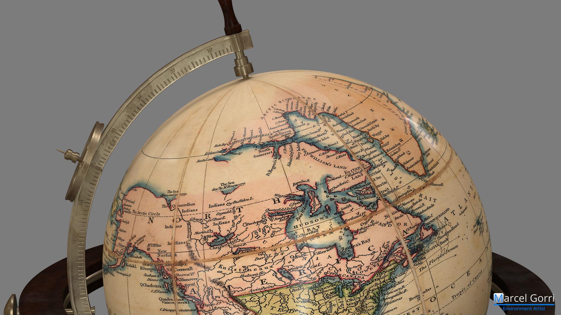 World Globe - Map