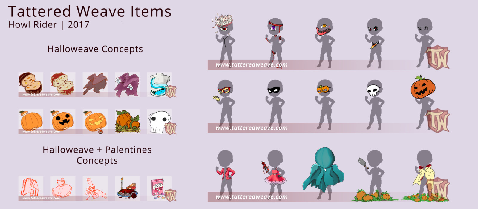 Concepts for items