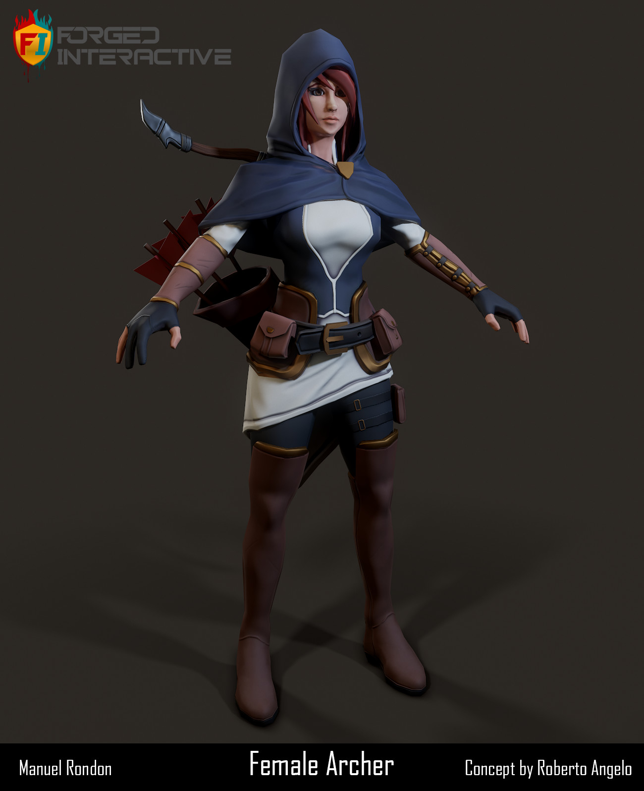 Female Archer (Forged Interactive)