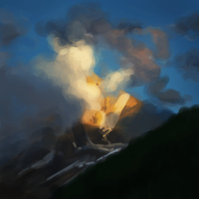 Daniel bernal mountain sunrise bernalstudio