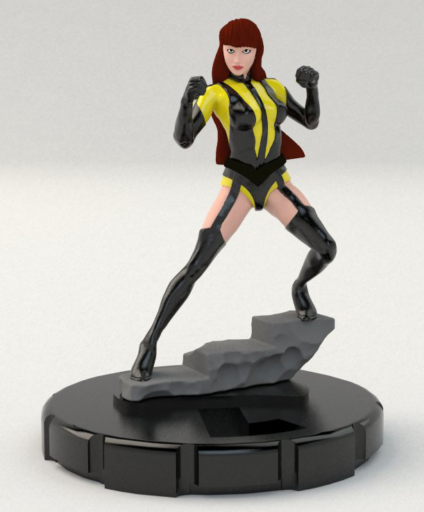 Ben misenar silk spectre rb 1
