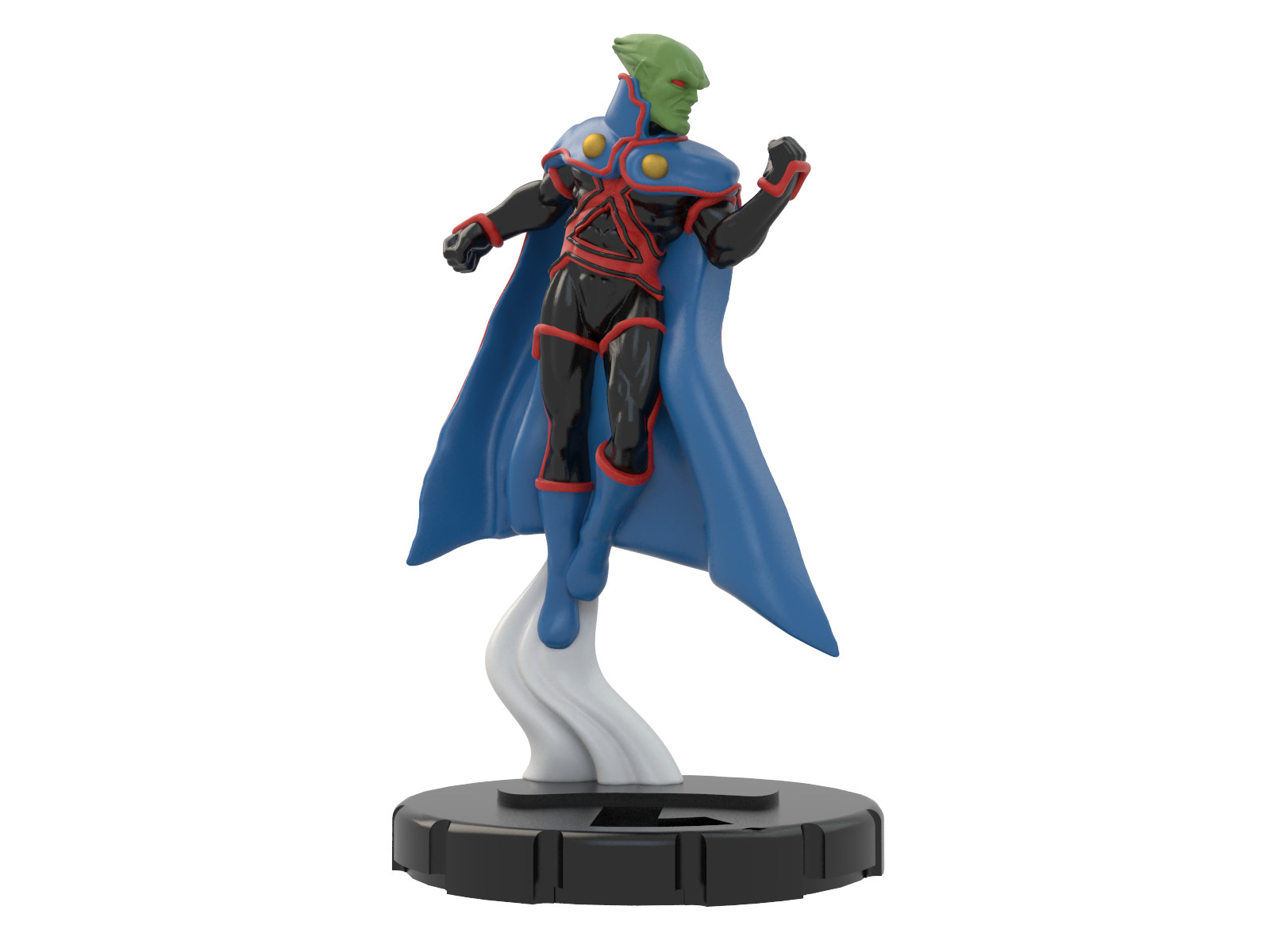 Ben misenar martian manhunter ra 1