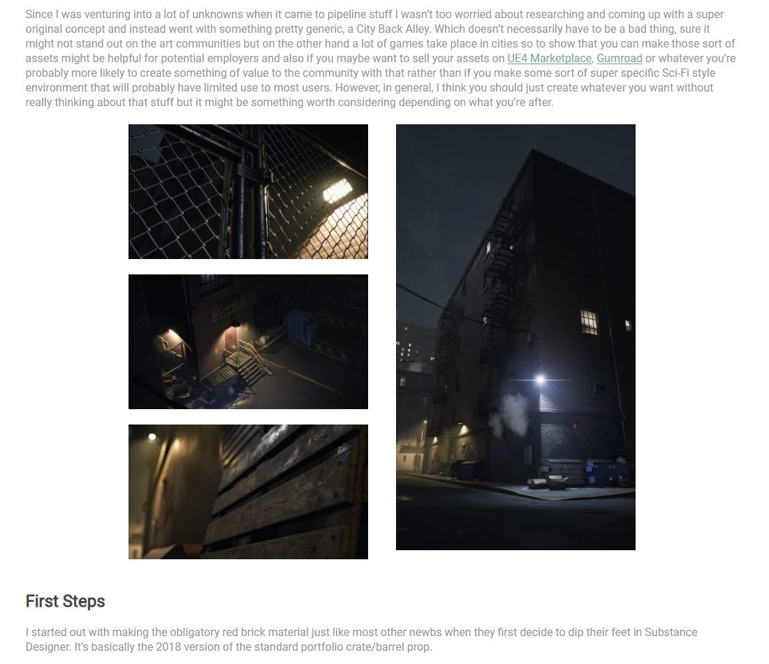 Snippet from 80.lvl Article (https://80.lv/articles/environment-production-from-cryengine-to-ue4/)