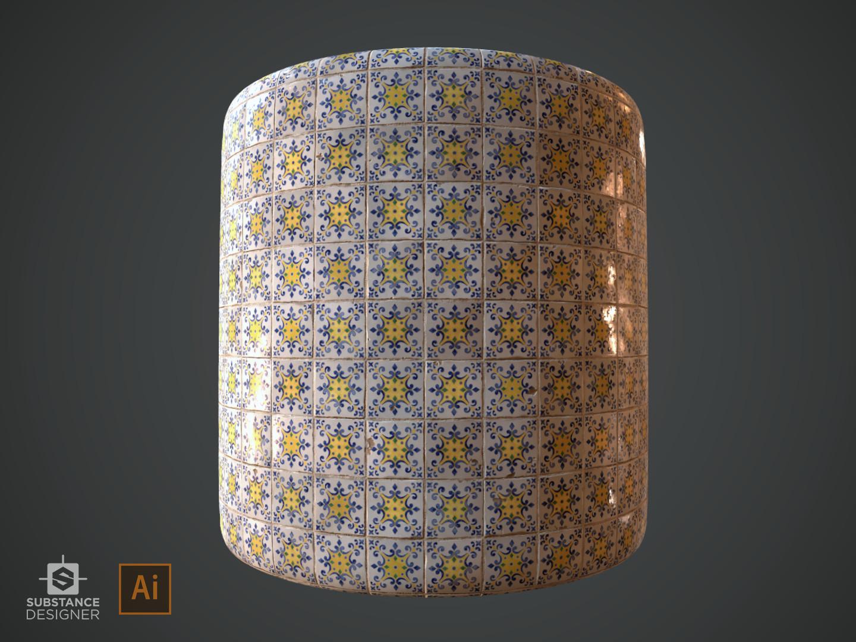 Alina godfrey azulejo alinagodfrey pattern3
