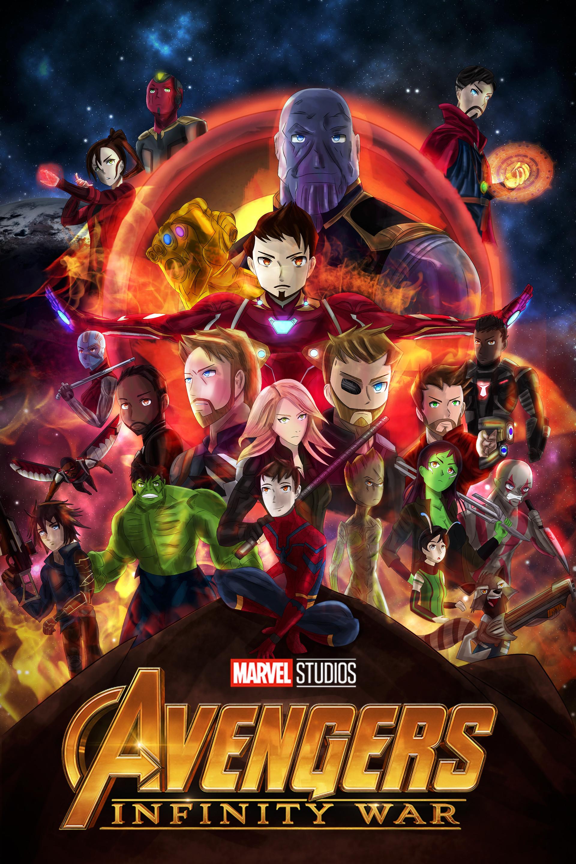 Avengers Infinity War Endgame Poster - Klewer e