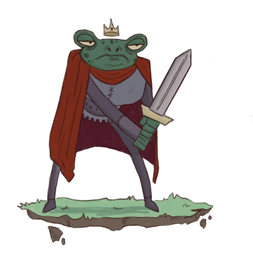 ab9c95482658f ArtStation - Sir Froggo the Second