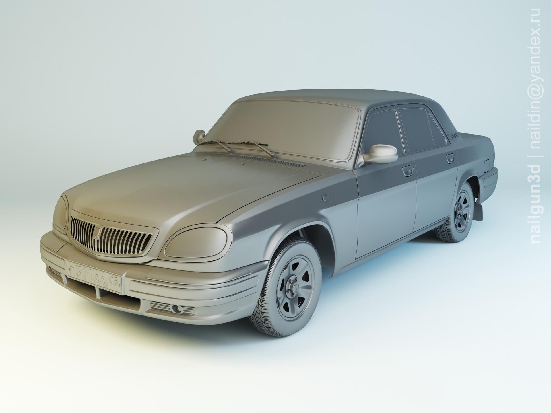Nail khusnutdinov als 212 001 gaz 31105 modelling 0
