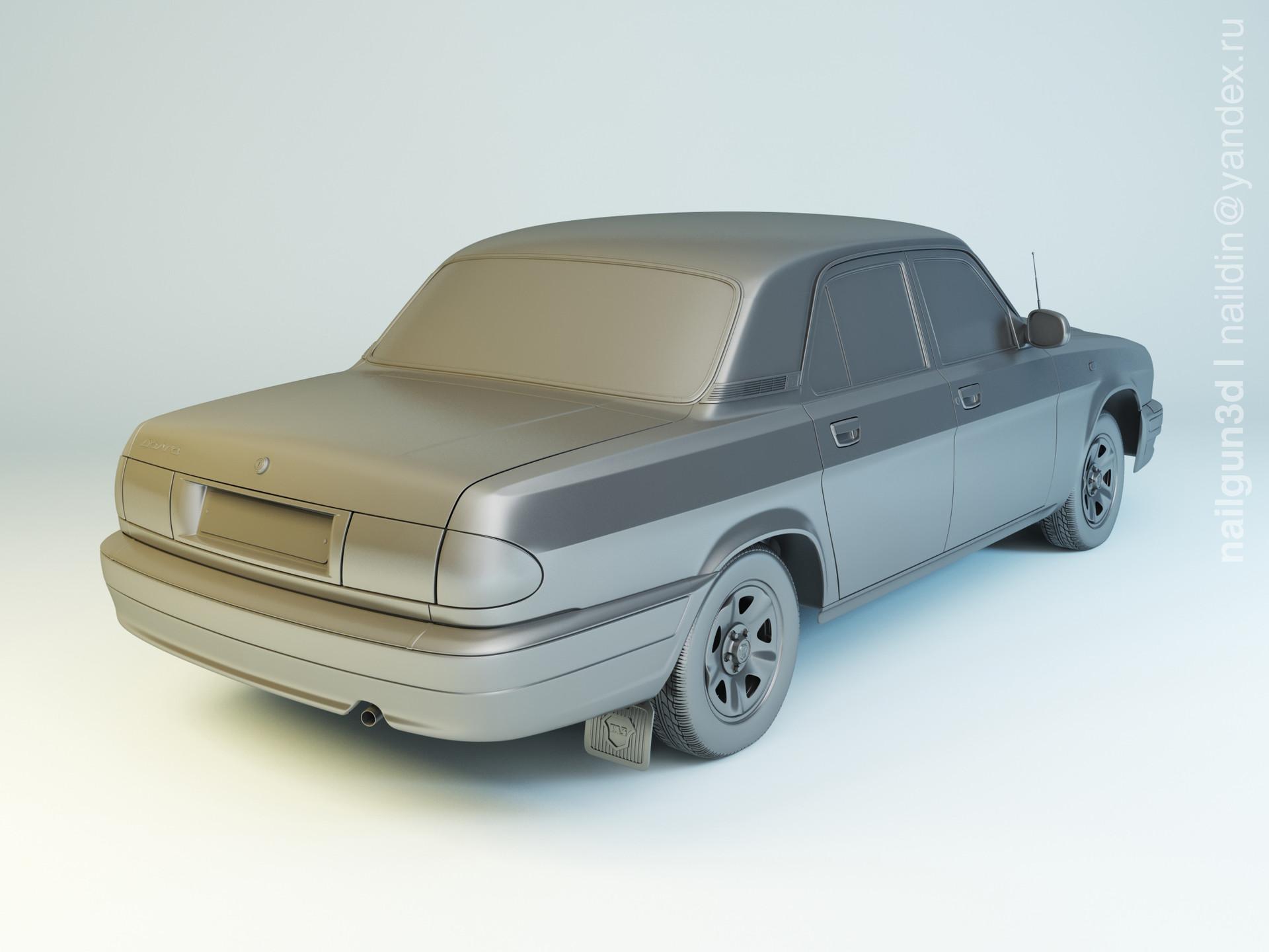 Nail khusnutdinov als 212 001 gaz 31105 modelling 1