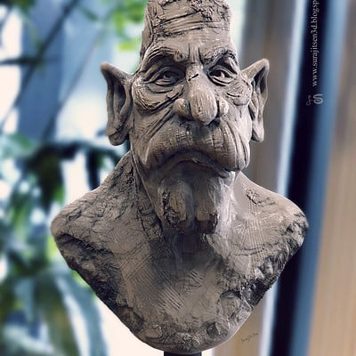 Surajit sen speed sculpt uncle by surajitsen