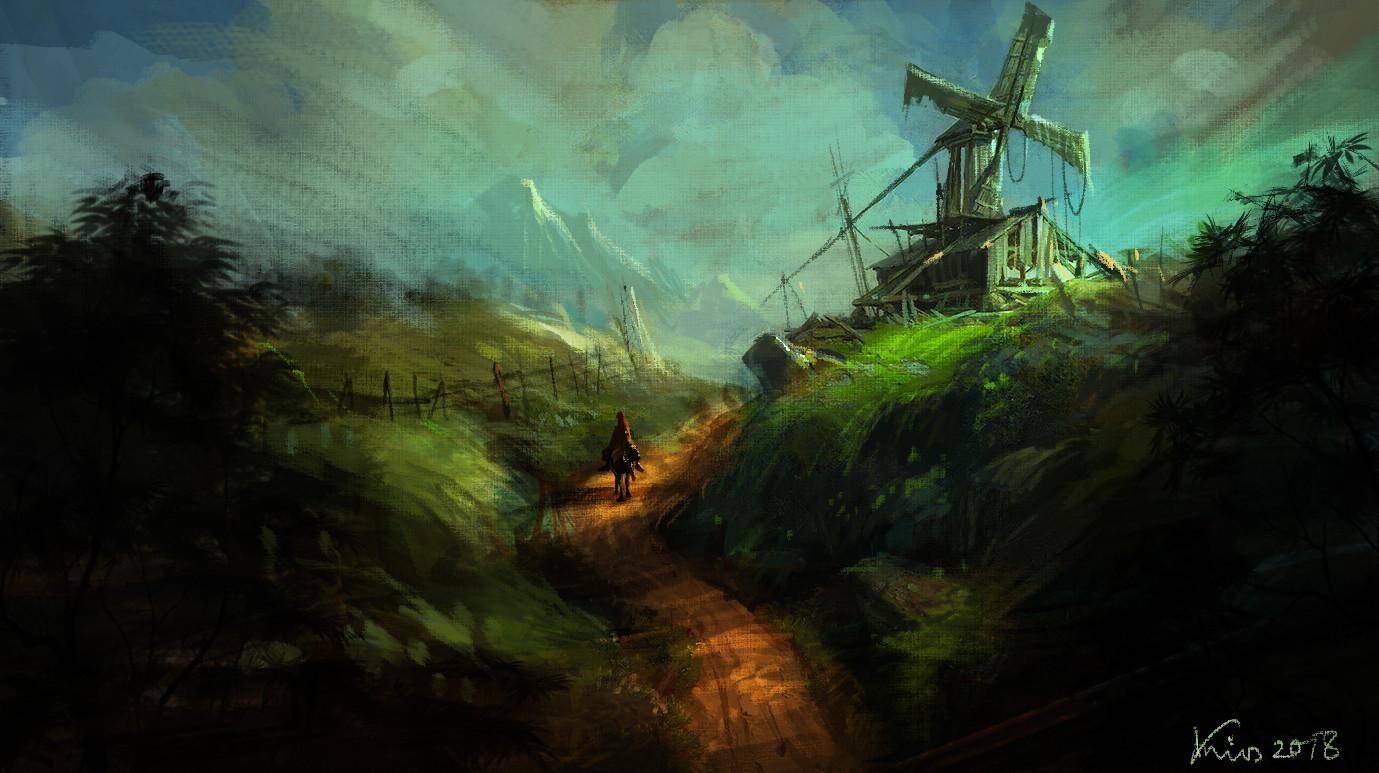 abandon wind mill 1