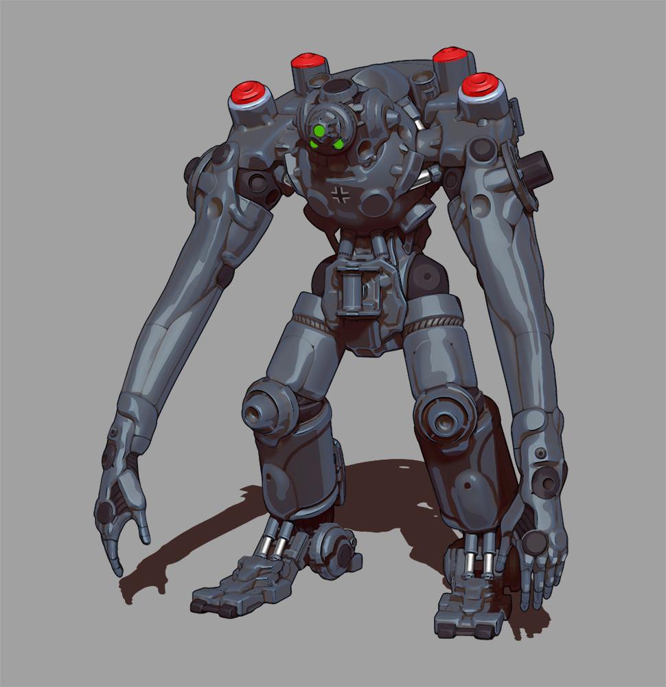 Min seub jung robot 02