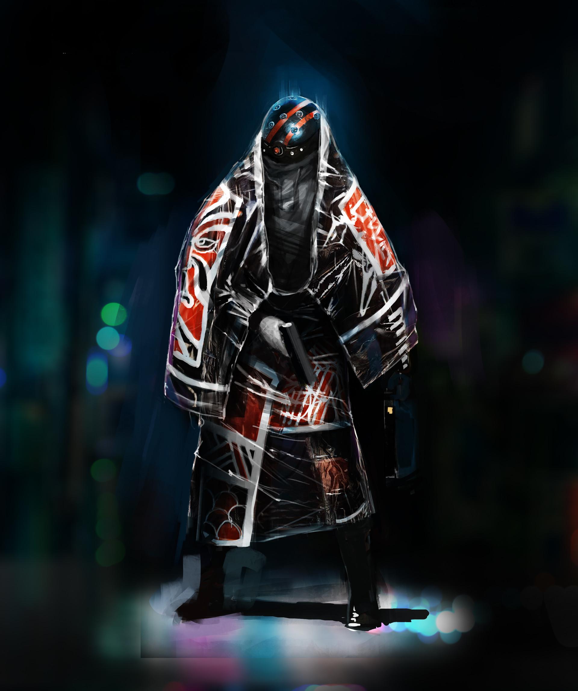 Pierre raveneau cyberpunk silhouette1
