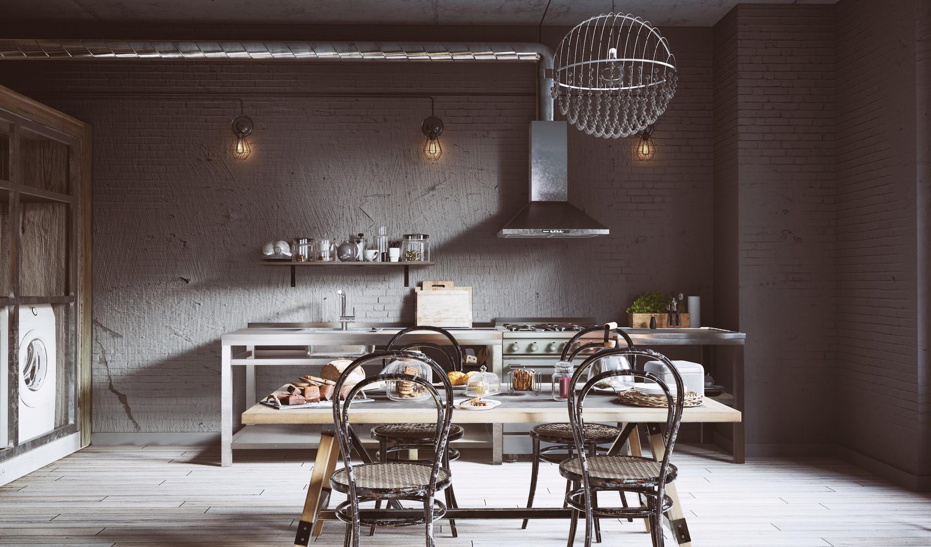 ArtStation - UE4 Archviz - Apartment 2018, David Baylis