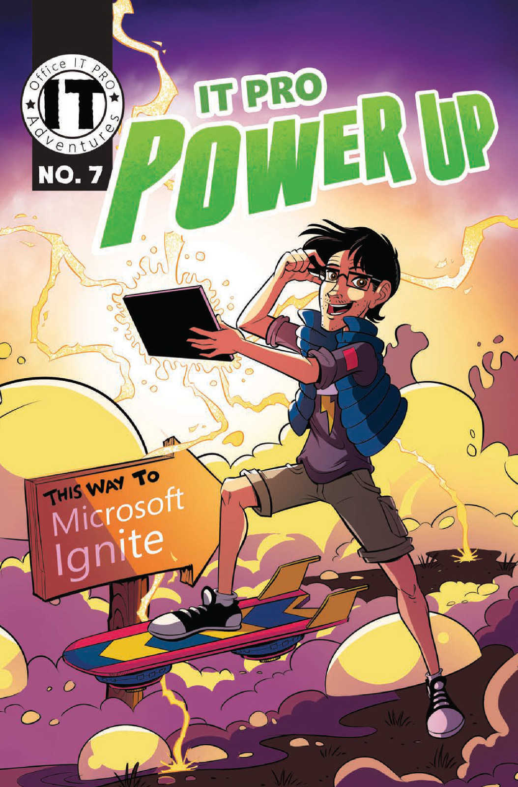 "Office IT Pro Adventures #7 ""IT Pro Power Up!"""